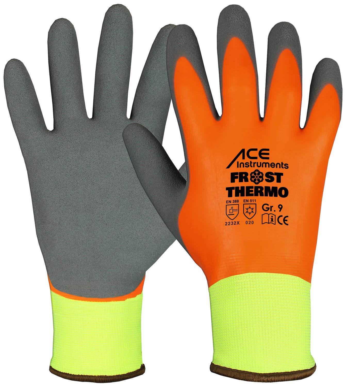 Imperm/éable Rev/êtement de Latex ACE Frost Thermo Gants de Protection Anti-froid 08//M Gants de Travail