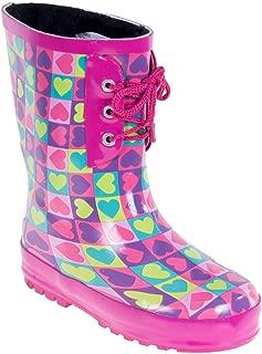 Kids Rain Boots - Faux Fur Lined Boots
