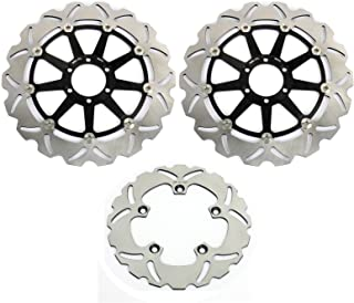 TARAZON Front Rear Brake Rotor Disc for Aprilia RSV1000 R TUONO R RSV4 R FACTORY 1000