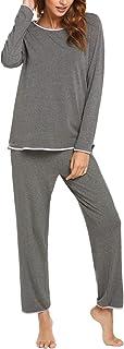 Pajamas Women's Long Sleeve Pajama Set 2 Piece Pajamas...