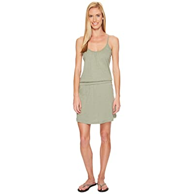 Carve Designs Hadley Dress (Pale Reed) Women