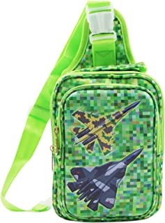 MOSSTYUS Kids Casual Sling Bag Daypack Shoulder Backpack Multifunction Chest Bag for Hiking Camping Sports Outdoor