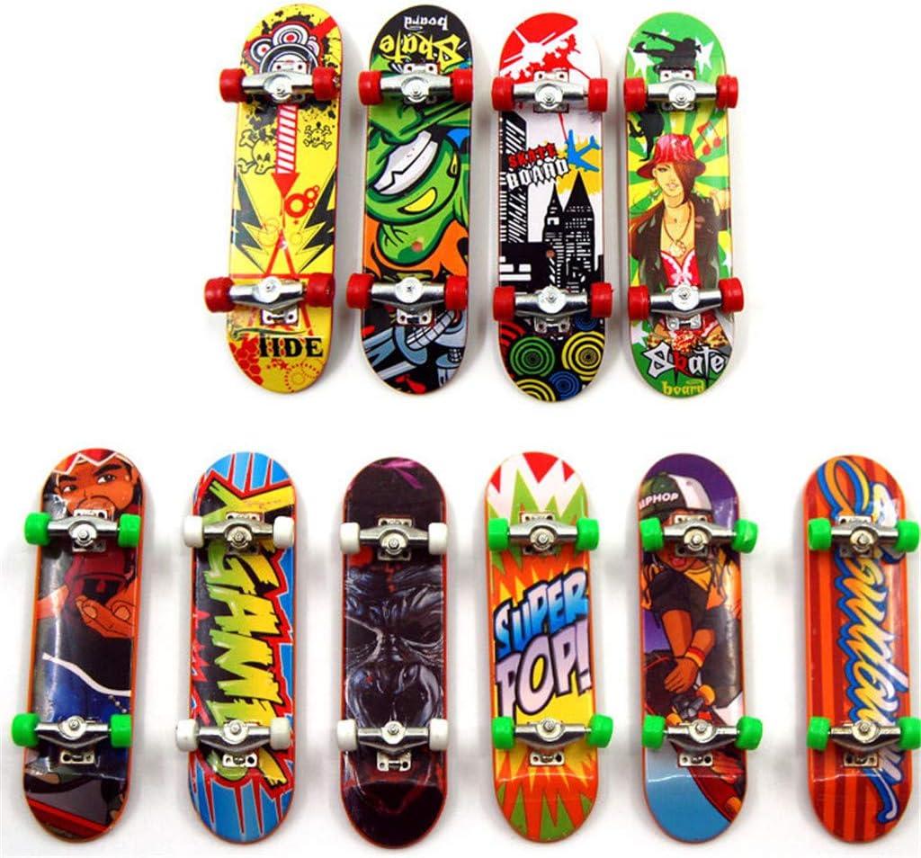 xiuersty 2PCS Mini Fingerboards Large-scale sale Toy Finger Boa Skateboard gift