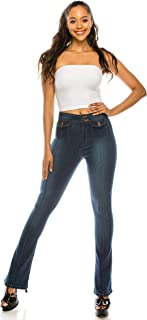 AP Blue Aphrodite Flare Jeans for Women - Bootcut Womens Stretch Jeans