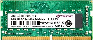 Transcend ノートPC用メモリ PC4-25600(DDR4-3200) 8GB 1.2V 260pin SO-DIMM 1Rx8 (1Gx8) CL22 無期限保証 JM3200HSB-8G