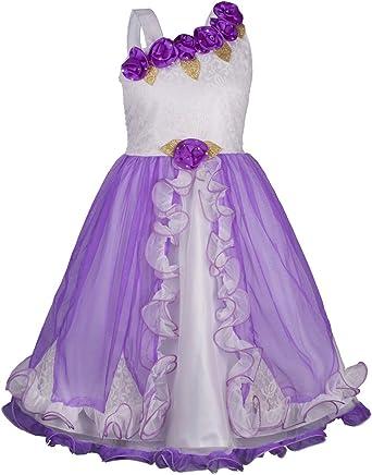 My Lil Princess Girl's Net A-Line Dress