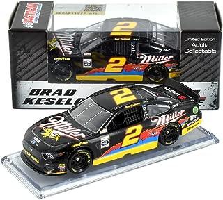 Lionel Racing Brad Keselowski 2019 Darlington Throwback Miller NASCAR Diecast Car 1:64 Scale