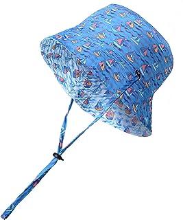 accsa Baby Sun Hat Reversible Summer Beach Bucket Hat for Baby Boys, Sun Protection UPF 50+, Adjustable & Waterproof