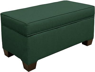 Fantastic Amazon Com Homepop Leatherette Storage Bench With Wood Tray Inzonedesignstudio Interior Chair Design Inzonedesignstudiocom