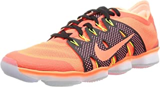 Women's Air Zoom Fit Agility 2, Hyper Orange/Hyper Orange-Sunset Glow-Volt, 5.5 US