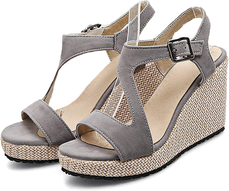 Merry-Heart Women Wedges Heels Platform Sandals shoes Woman,