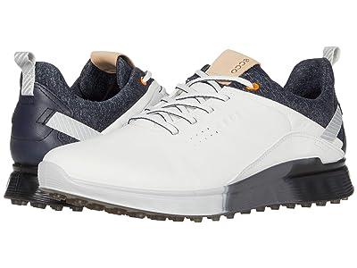 ECCO Golf S-Three GORE-TEX(r) (White) Men