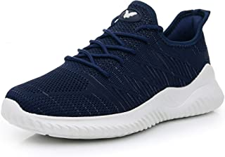 Impdoo Men's Memory Foam Slip On Walking Sneakers Comfortable Sports Athletic Tennis Running Shoes (US7-12 B(M)