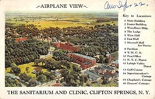 Clifton Springs New York Sanitarium And Clinic Antique Postcard K53733