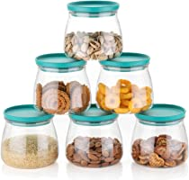 MEELANA Woman's 1st Choice Airtight Container Jar Set For Kitchen, Organizer, Container Set Items, Air Tight Containers...