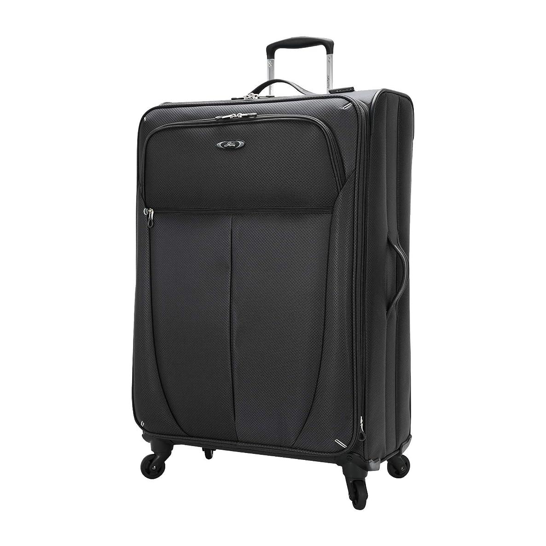 Skyway Luggage Mirage Superlight 28-Inch 4 Wheel Expandable Upright, Black, One Size