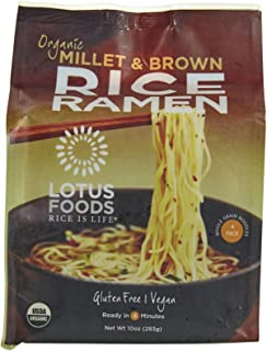 Lotus Foods Organic Ramen Noodles-Millet & Brown-10 oz