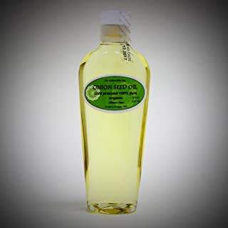 8 Oz Premium Onion Seed Oil Organic Natural Hair Care Hair Treatment Cold Pressed