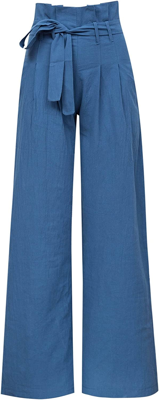Xintianji Stripe High Waist Stretch Short Pants with Pockets Short Pants for Women