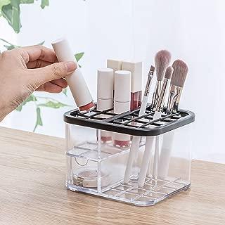 Antehome Storage Box, Desktop Makeup Drawer Type Storage Box Case Holder Brush Pen Organizer