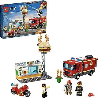 LEGO 60214 City Brandmän i Hamburgarrestaurang, Flerfärgad