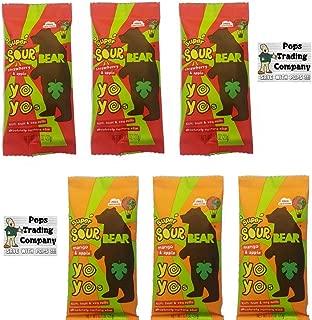 Bear Yoyo Super Sour Variety Sampler 2 Flavors 6pk