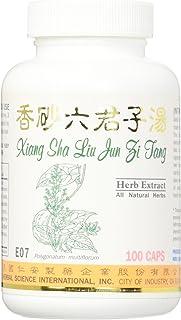 Xiang Sha 6 Sages Dietary Supplement 500mg 100 Capsules (Xiang Sha Liu Jun Zi Tang) E07 100% Natural Herbs