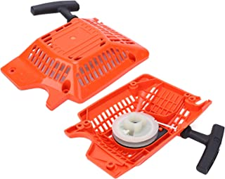 SALUTUYA 2 uds arrancador de tracción para Accesorios de Motosierra 52 mecanismos de polea de Arranque Equipos de jardín máquinas de Patio