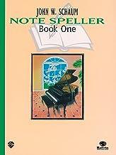 Schaum Note Spellers Book 1 (Schaum Method Supplement) PDF