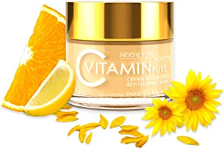 Noche Y Dia Vitamin C Cream - Daily Anti Aging Cream - Anti Wrinkle Moisturizer for Face & Neck - Reduce Appearance of Wri...