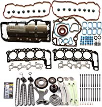 ECCPP Replacement for Head Gasket Timing Chain Kit with Bolts fit for 04 05 06 Jeep Commander Dodge Dakota Mitsubishi Raider 4.7L DOHC V8 GAS
