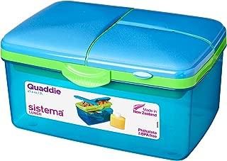 2.5Ltr Quaddie Lunch Box - Green