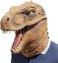 DUBAOBAO Halloween latex masker Tyrannosaurus rex ...