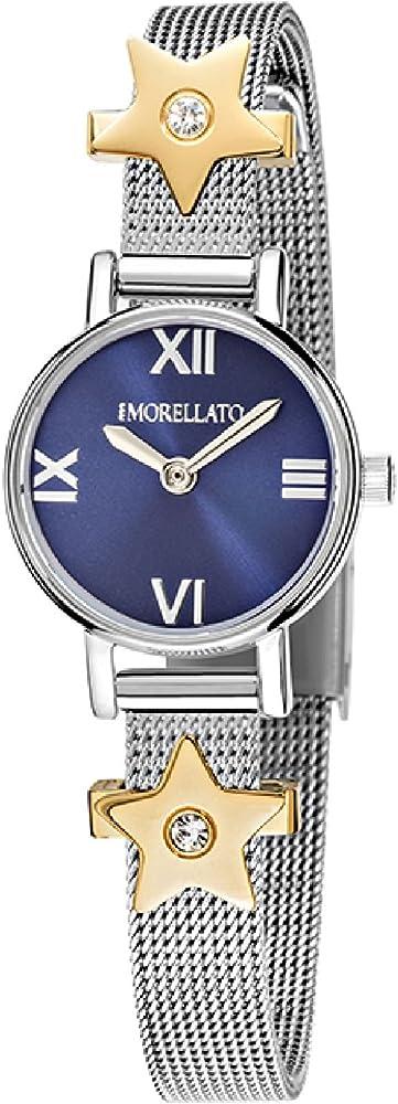 Morellato, orologio analogico al quarzo per donna, in acciaio inossidabile R0153122581
