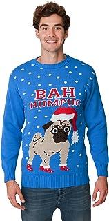 New Camp Ltd Christmas Xmas 2018 Mens Jumper Novelty Fairisle Santa Party Sweater Jumper Womens Unisex BAH Humpug Exclusiv...