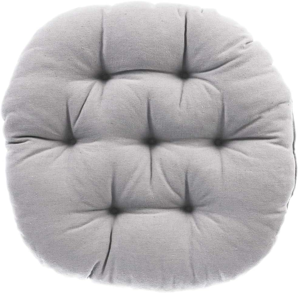 WINOMO Round Floor Pillow Animer and price revision Cushion Ranking TOP20 Linen Seat Cotton Pouf