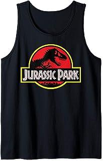 Jurassic Park Distressed Vintage Logo Débardeur