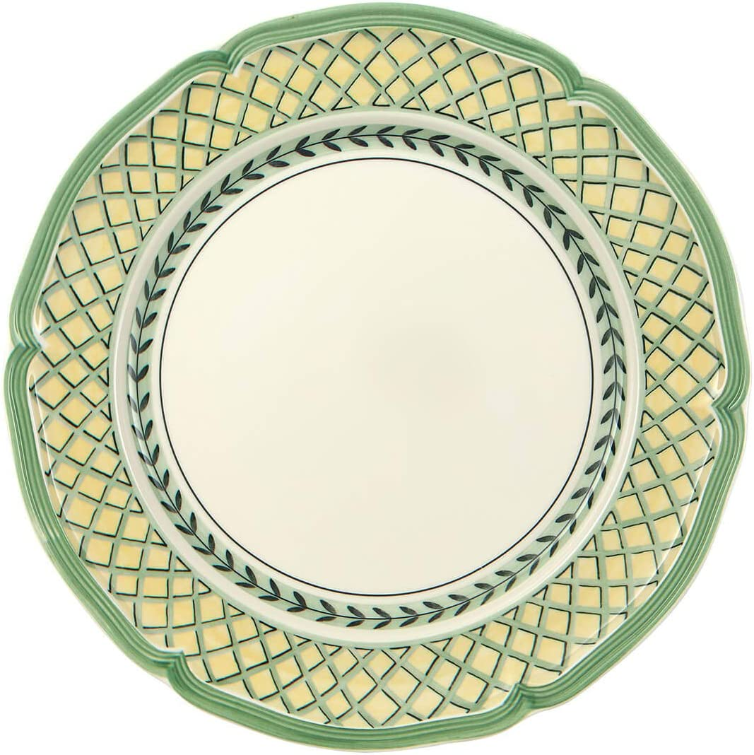 Villeroy Max 55% Fixed price for sale OFF Boch French Garden Orange Plate 10.25 Dinner Whi in