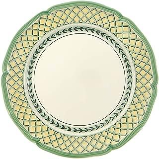 Villeroy & Boch 10-2284-2620 French Garden Orange Dinner Plate, 10.25 in, White/Multicolored