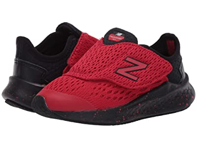 New Balance Kids Fresh Foam Fast (Infant/Toddler) (Team Red/Black) Boys Shoes
