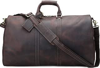 polare leather duffle bag