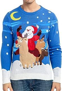 Best mens reindeer christmas sweater Reviews