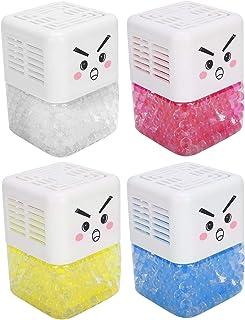 Parfum sans feu Désodorisant pour salle de bain à la maison Boîte d'aromathérapie Parfum de longue durée, 2 pièces pour la...