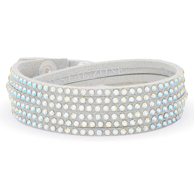 LA SENJA Light Gray Multi Wrap Made Super special price Bracelet Now on sale for with Women Swar