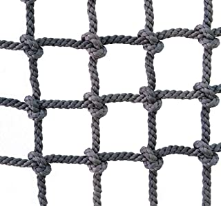 Climbing Net for Children and Adults, Crawling Net Fall Protection Protective Net for Outdoor Sport Indoor Decoration, Net...