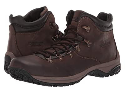 Dunham Ludlow Waterproof Plain Toe Boot (Brown) Men