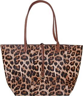 Humble Chic Reversible Vegan Leather Tote Bag - Oversized Top Handle Large Shoulder Handbag Purse