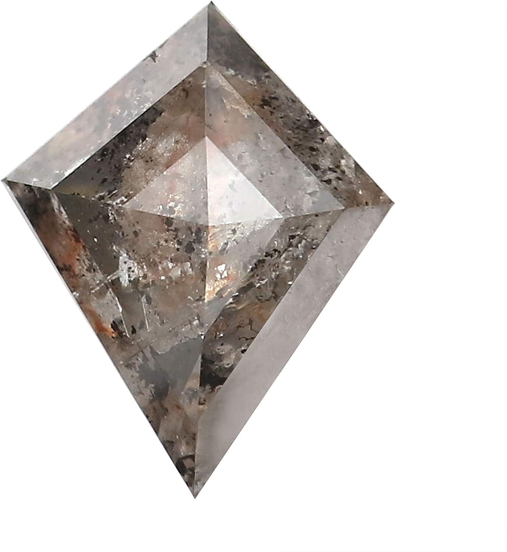 1.01 Ct Natural Loose Diamond Kite and Manufacturer OFFicial shop Co Grey Black Max 61% OFF Salt Pepper