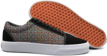 NICESSHOE New-Classic-Order-Total-from-Joy-Division-to-New-Order- Men Skateboard Shoes Lace Up Shoe