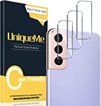 [3 Pack] UniqueMe Compatible with Samsung Galaxy S21 /...